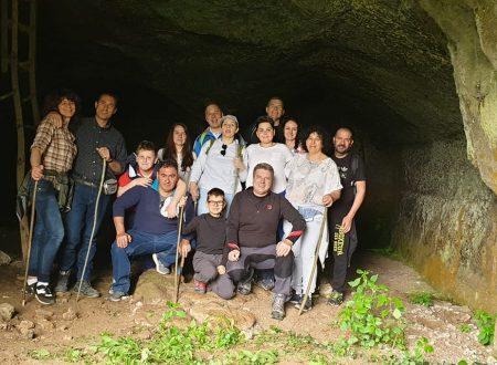 I Cappellacci alla scoperta della Grotta dell'Arnaro