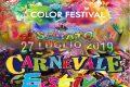 Carnevale Estivo ed Holi Colors Festival
