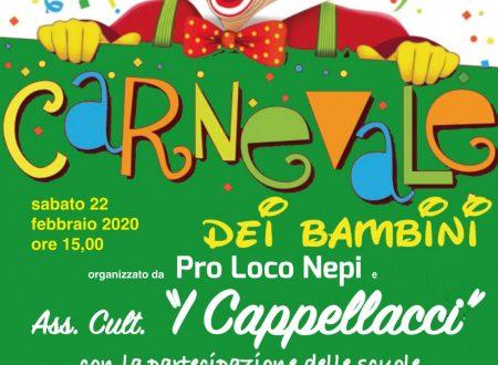 Carnevale dei Bambini Nepi 2020.